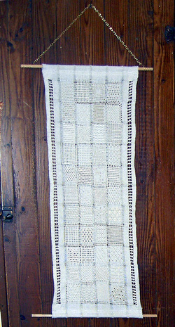 pulled tthread sampler with 44 different blocks - Pugcentric Pursuits needlework blog
