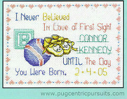 Picture of Love at First Sight cross stitch chart
