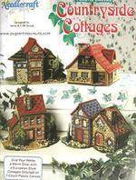 Country Cottages leaflet plastic canvas patterns